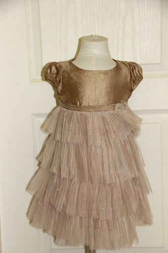 Золотое Платье Biscotti размер 4г.