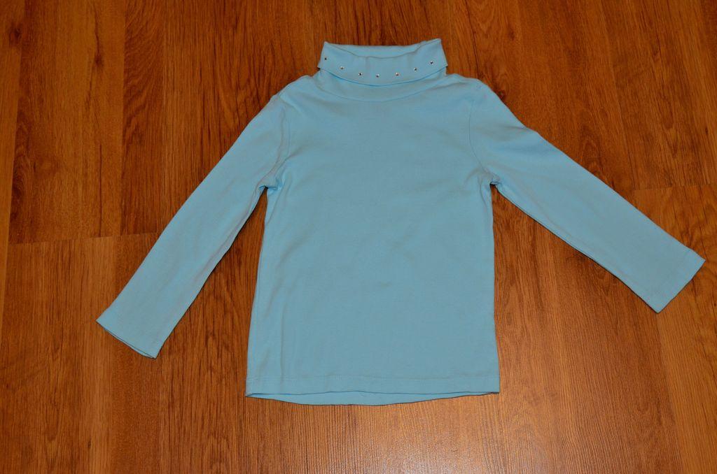 Голубая Водолазка Gymboree 4-6 лет
