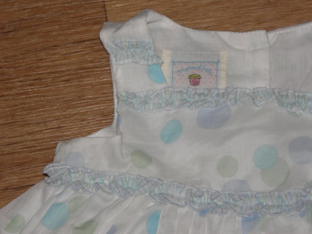 "Хлопковое платье / сарафан ""Marmellata"" (CША) 12 м"