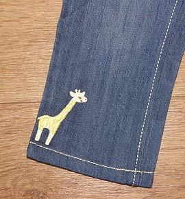 Джинсы GYMBOREE с жирафом 18-24 мес.