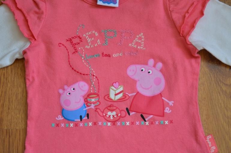 Лонгслив Mothercare с свинкой Пеппой