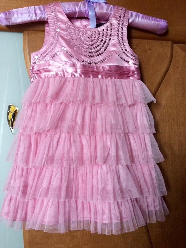 Нарядное платье George р 1-1,5 рост 86