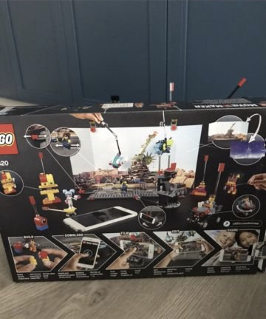 Лего movie maker