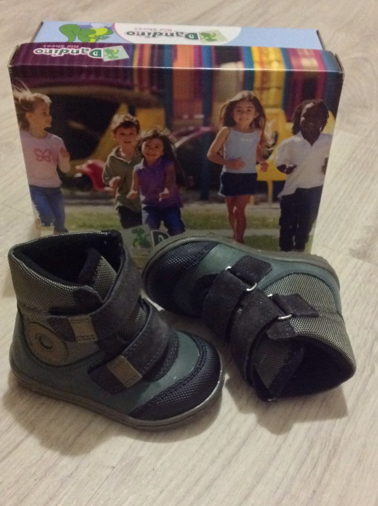 Ботинки на мальчика dandino новые.