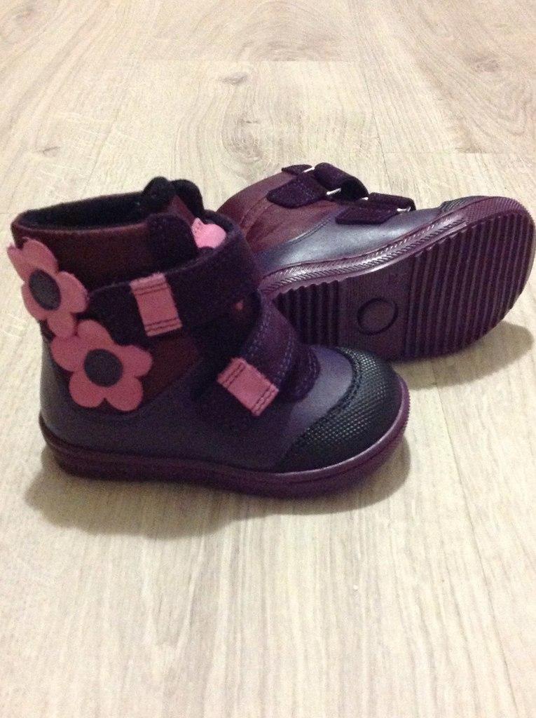 Ботинки на девочку dandino новые.