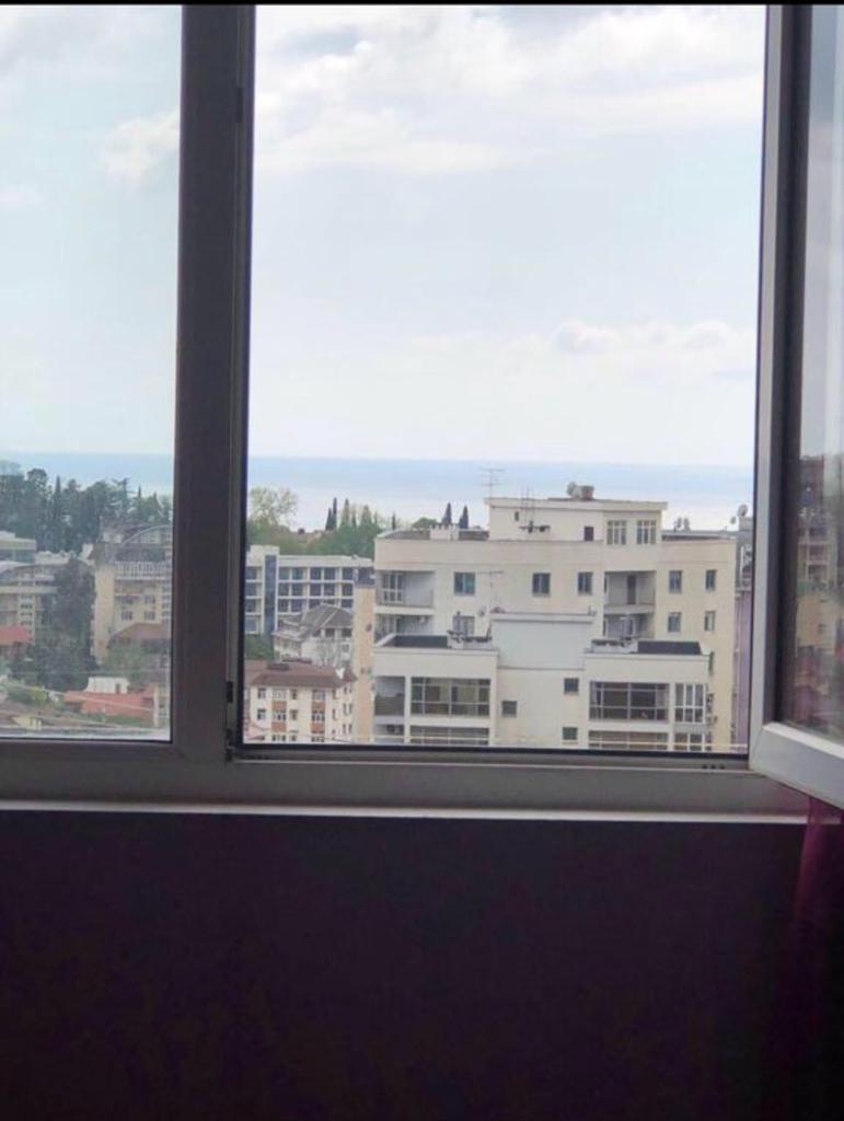 Сдам однокомнатную квартиру с дизайнерским ремонтом у моря.