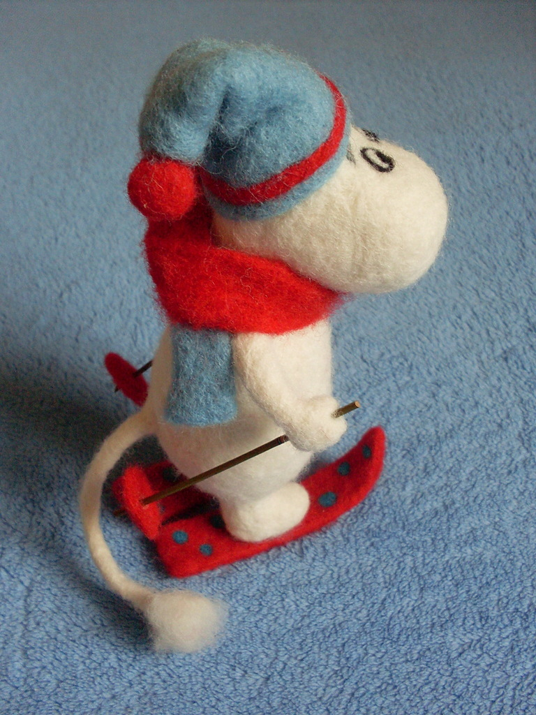 Интерьерная игрушка Муми-тролль.