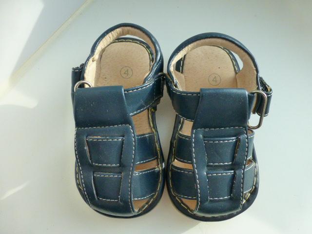 сандалии из нат.кожи, р.4 (США)