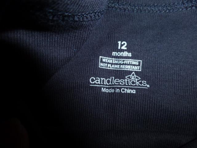 Пижама Candlesticks на 9-12мес., новая