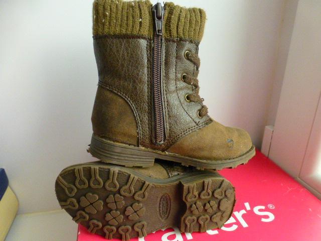 ботинки/сапоги утеплённые Carter's, р.7 (США)