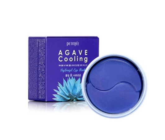 Охлаждающие патчи с экстрактом Агавы и 5 Blue Comp