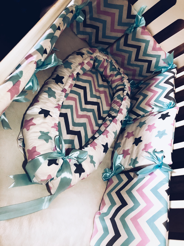 бортики в кроватку(новые)