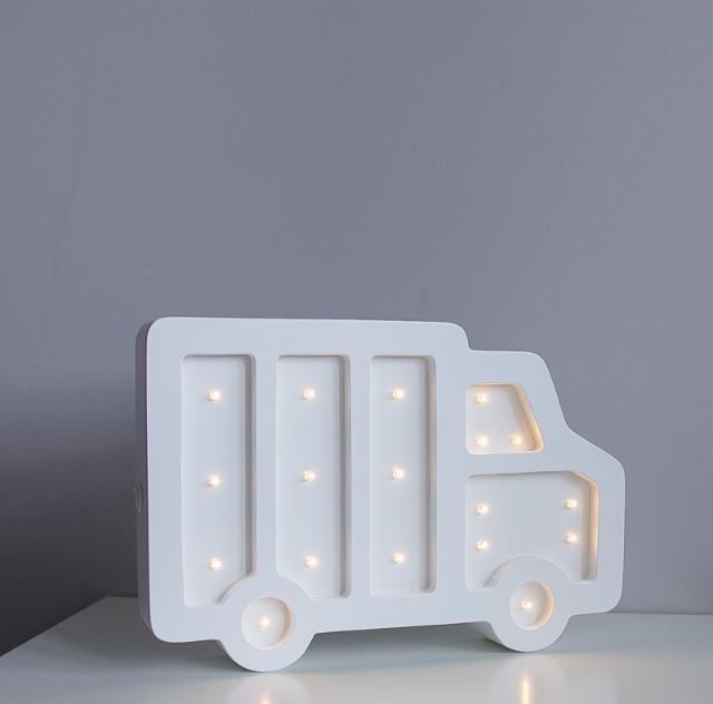 Ночники, светильники в детскую из дерева