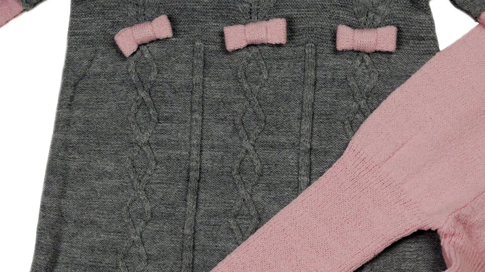 Платье вязаное с легинсами на 1 и 1.5 года/Турция