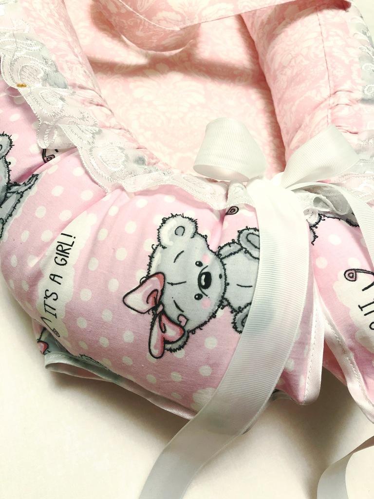 Гнездышко кокон для новорожденного