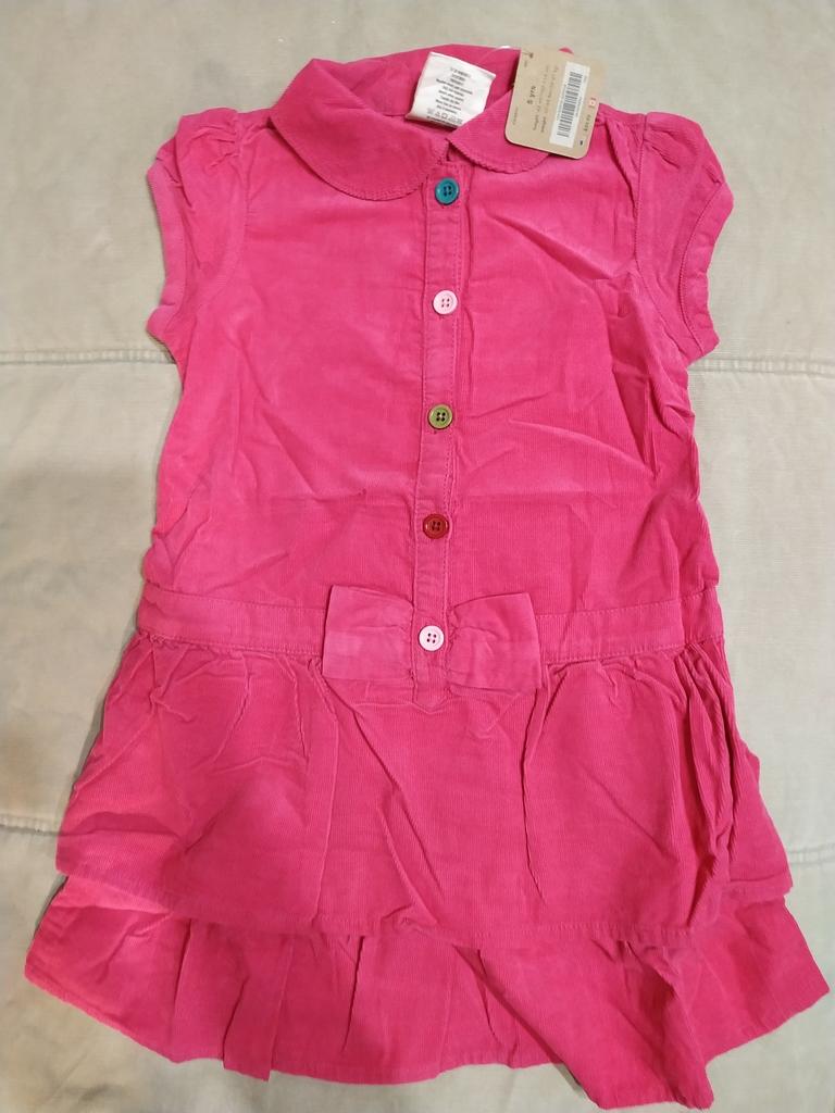 Платье вельветовое Crazy8 на 4-5 лет, новое