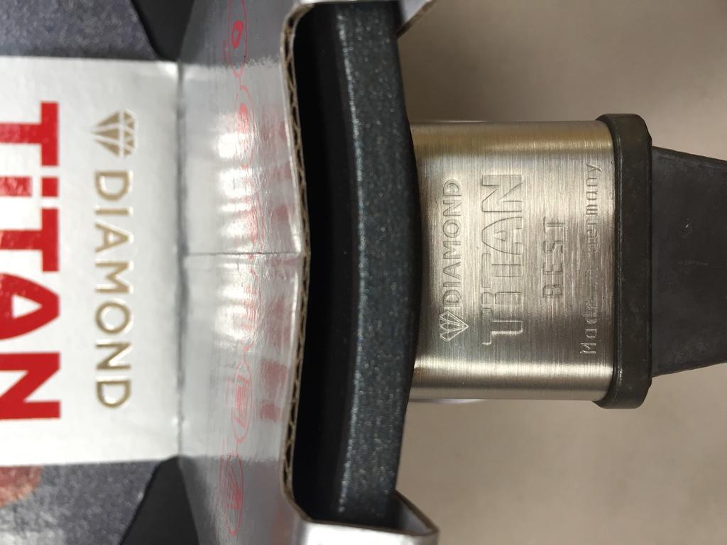 Новая сковорода Woll Diamond Titan Best с крышкой