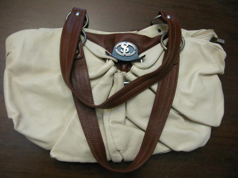 Новая сумка SL из натуральной плотной кожи