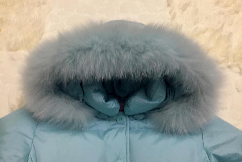 Зимний пуховик AVIVA размер 6лет рост 116-122см