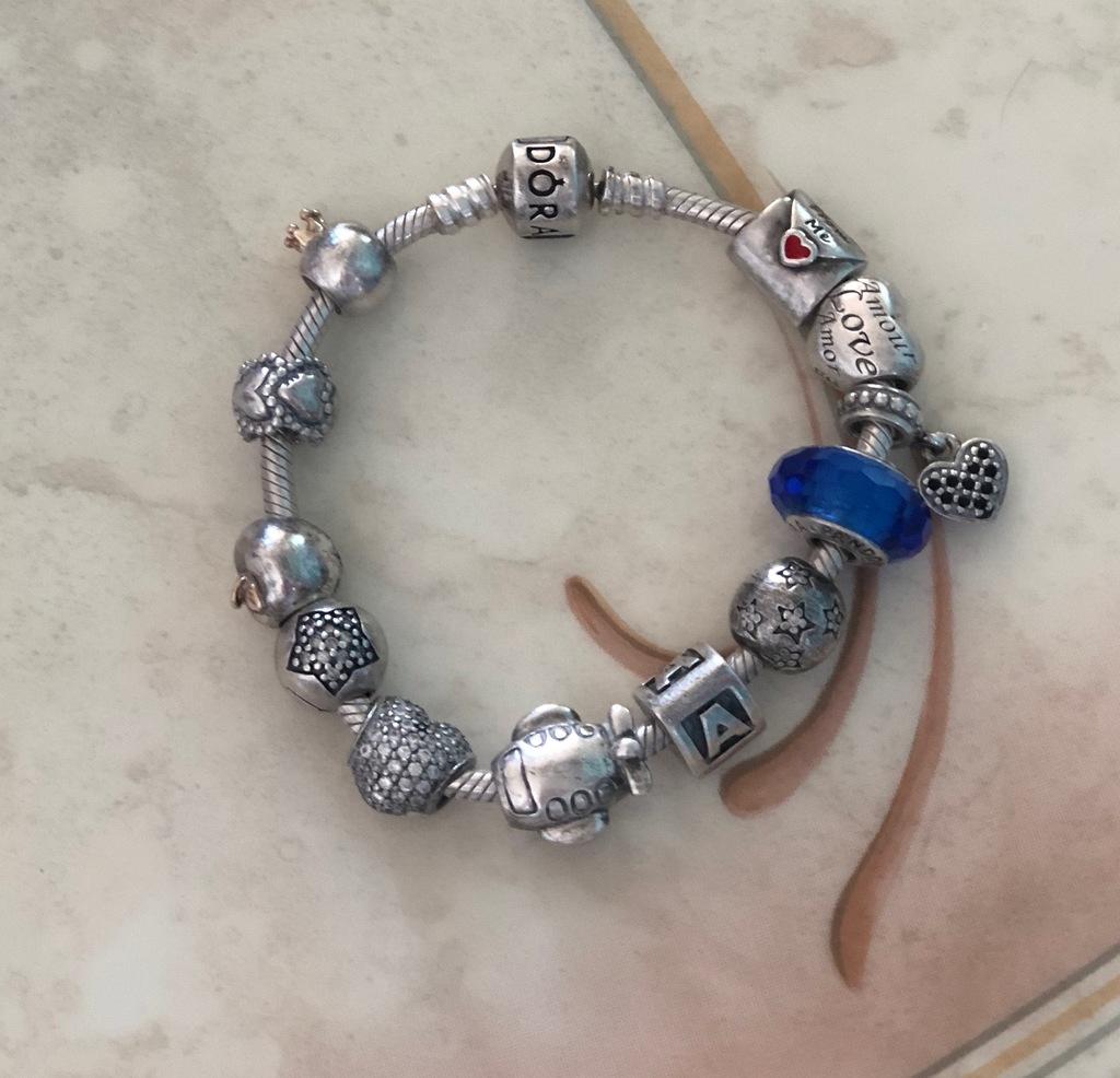 Пандора шармы и кольцо.