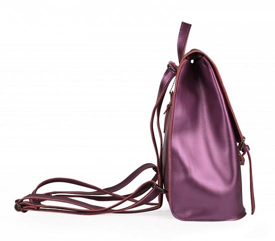 Новый женский кожаный рюкзак ULA