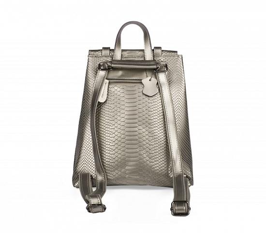 Новый кожаный рюкзак ULA цвет шампань