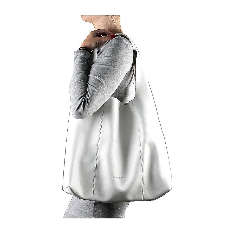 Новая большая кожаная сумка мешок Италия