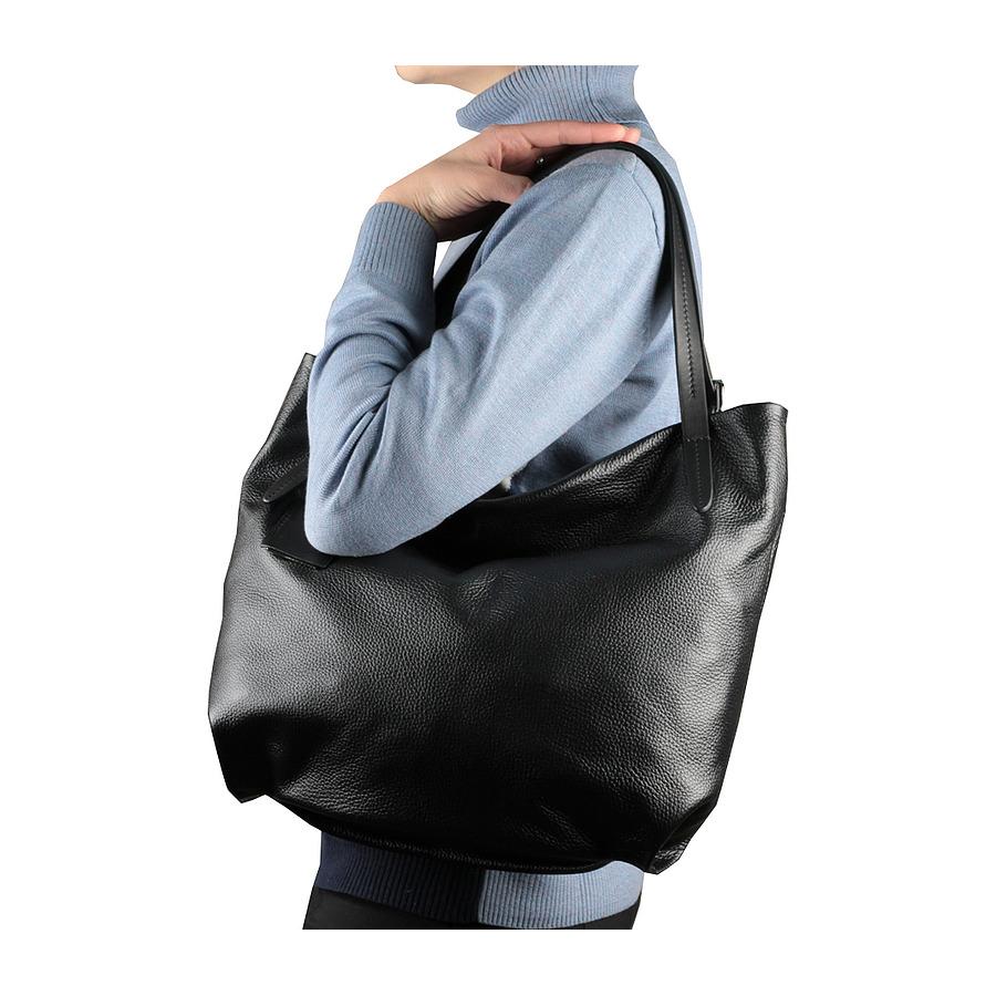 Новая большая кожаная сумка Италия формат А4