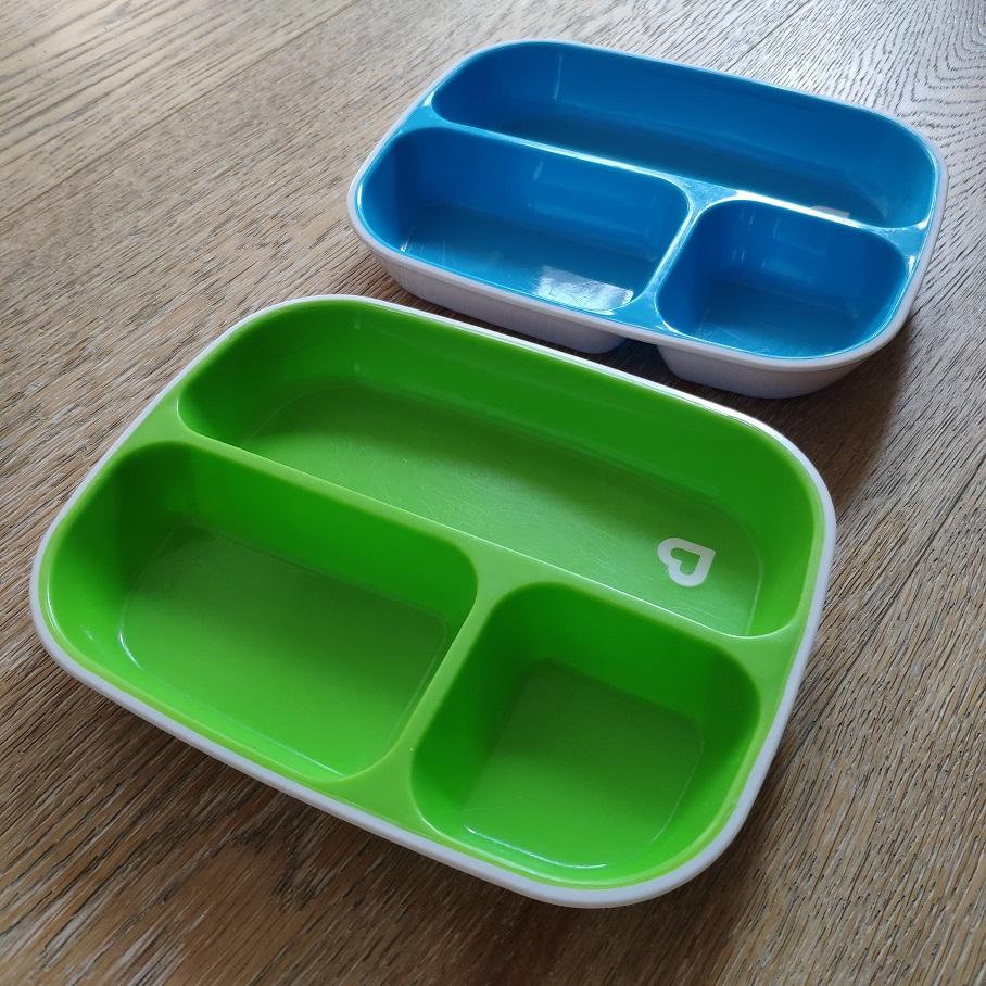 Munchkin набор тарелок секционных 2шт. 6+, б/у