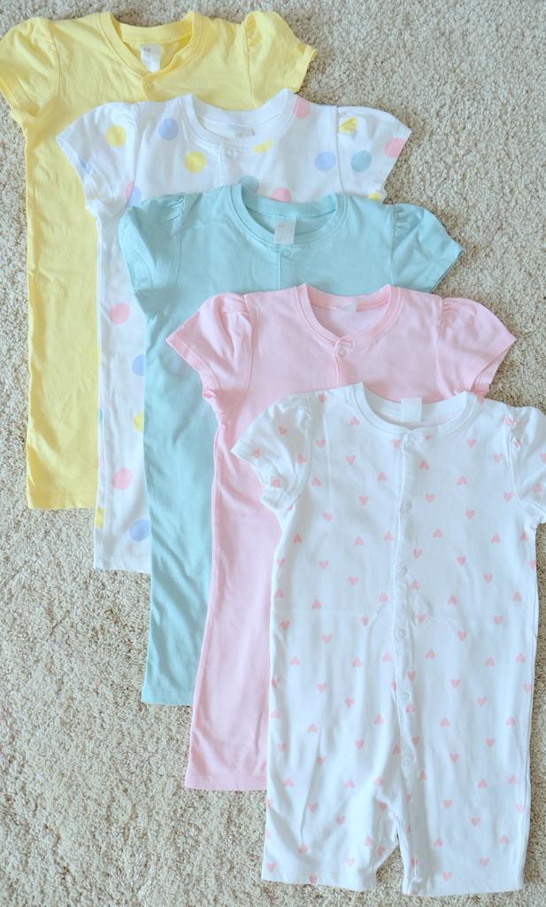 Пижамы H&M 98см 5шт