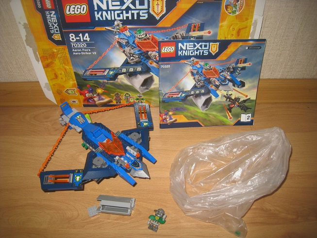 LEGO Nexo Knights Аэро-арбалет Аарона (70320)