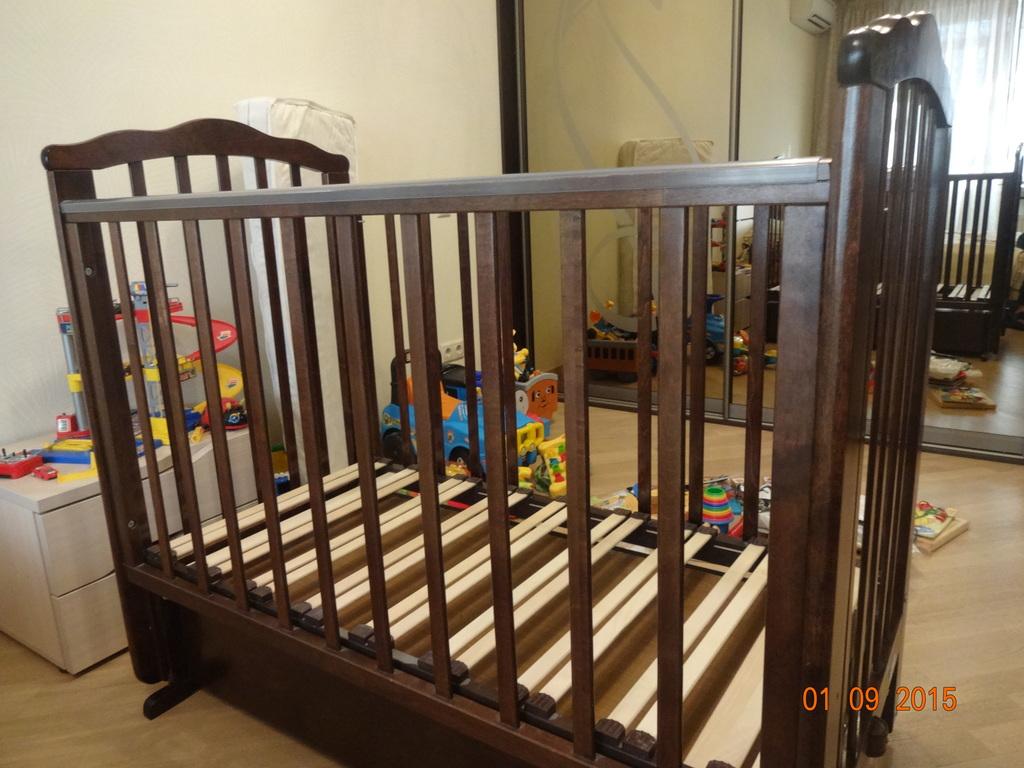 Кровать детская Можга Элина (поперечный маятник)