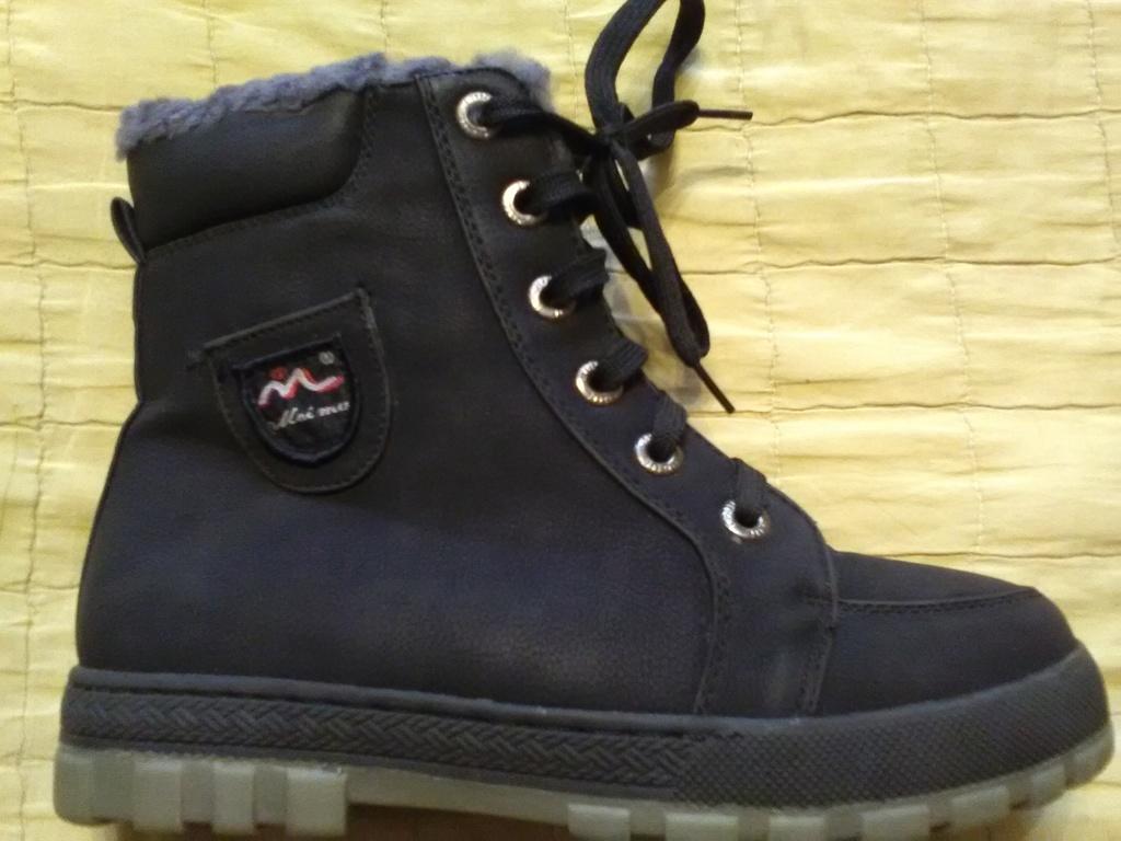 Новые зимние натуральные ботинки