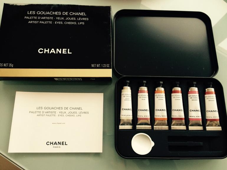 CHANEL Оригинал! Chanel Les Gouaches De Chanel Нов
