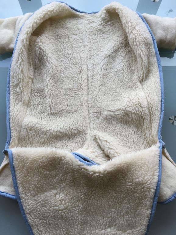 Комбинезон-трансформер зимний Arctiline р.80 (мех)