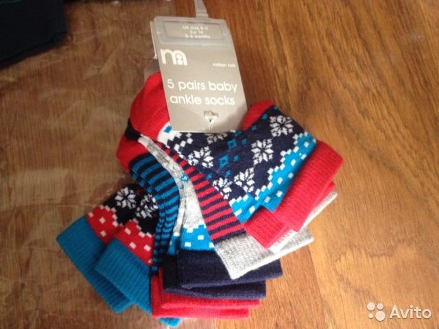 Новый комплект Mothercare 3-6мес + носочки 0-6мес