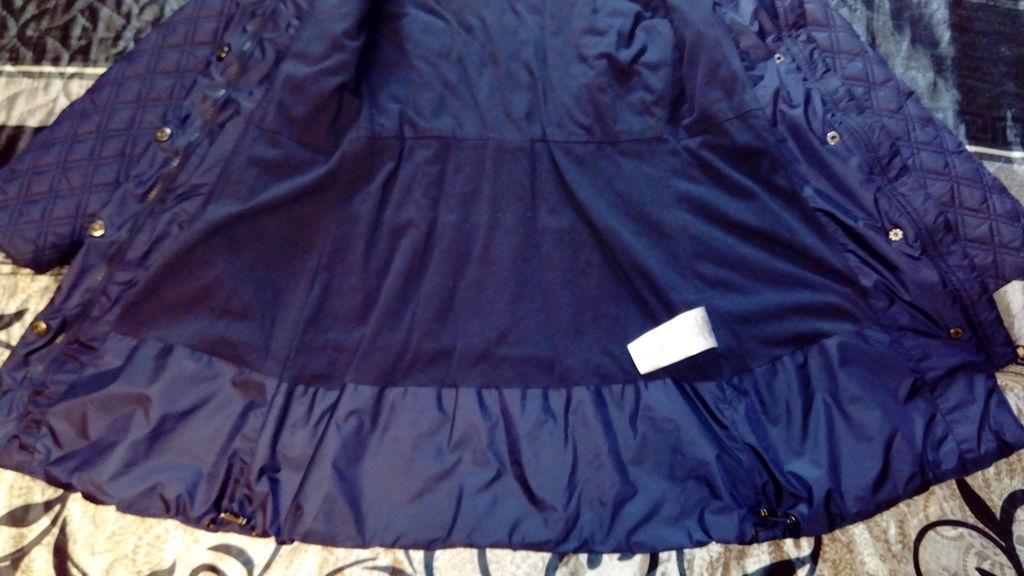 Демисезонное пальто Borelli 9р. 134-140р.