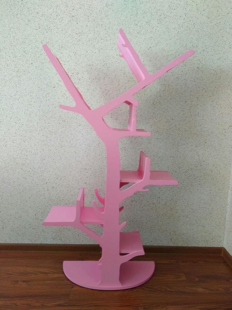полка стеллаж дерево