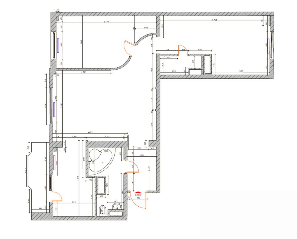 Разработаю планировочные решения вашей квартиры