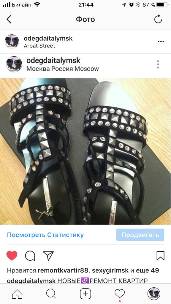 Сандали новые SHY Италия размер 39 чёрные замша кожа стразы сваровски камни Swarovski босоножки женские обувь бренд