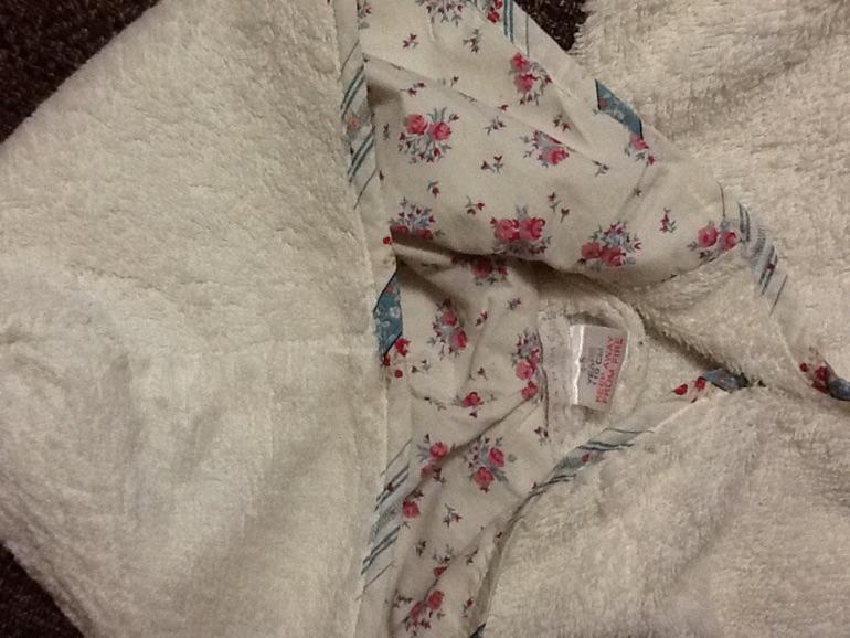 Махровый халат 4-5лет ZaraHome