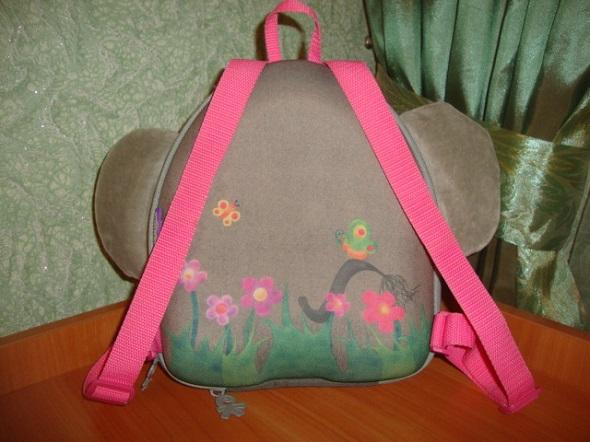 Почти новый, каркасный , детский рюкзак Wild pack