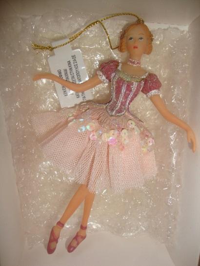 """Новая ёлочная игрушка """"Балерина"""""""