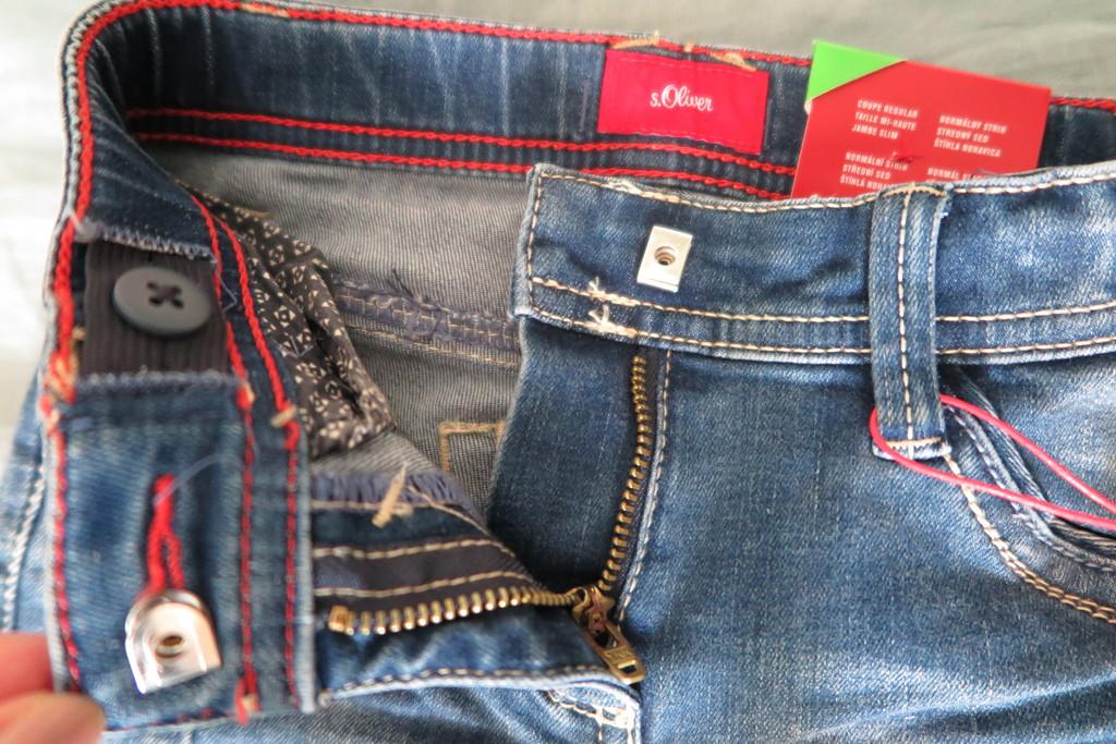 Новые джинсы на девочку sOliver 122 slim