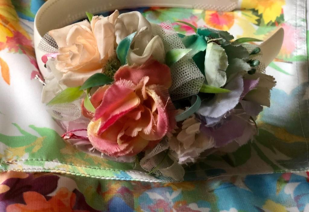 Новое цветочное Simonetta 10/146 c ободком