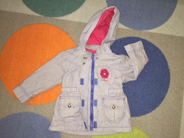 куртка ветровка s.oliver 80см
