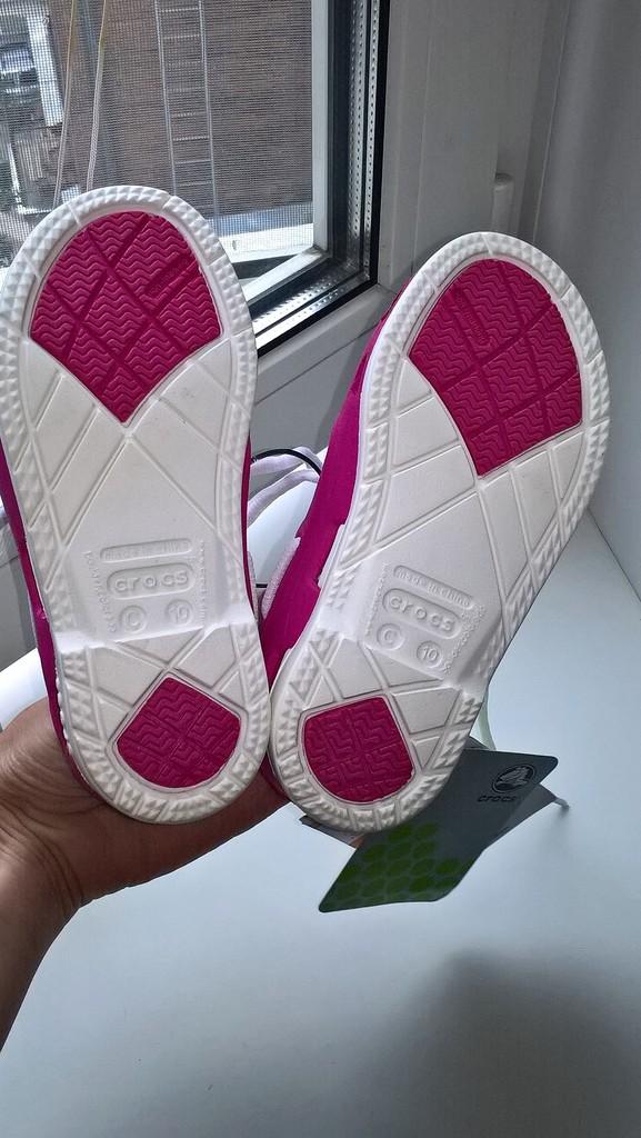 Детские Мокасины ботинки crocs на шнурке С10