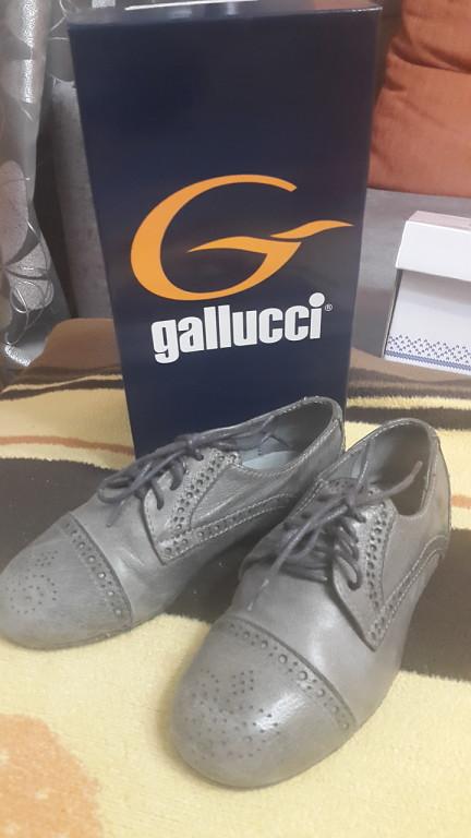 Итальянские ботинки Gallucci для мальчика, р. 28
