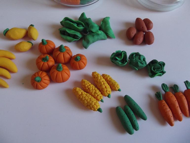 триколор поделка овощи для малышей пейзаж травой поле