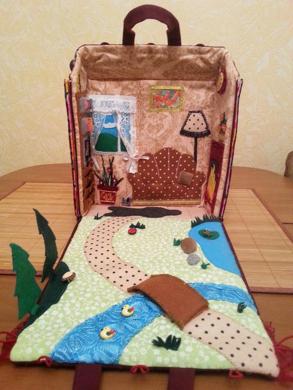 Домик сумка для куклы своими руками выкройки